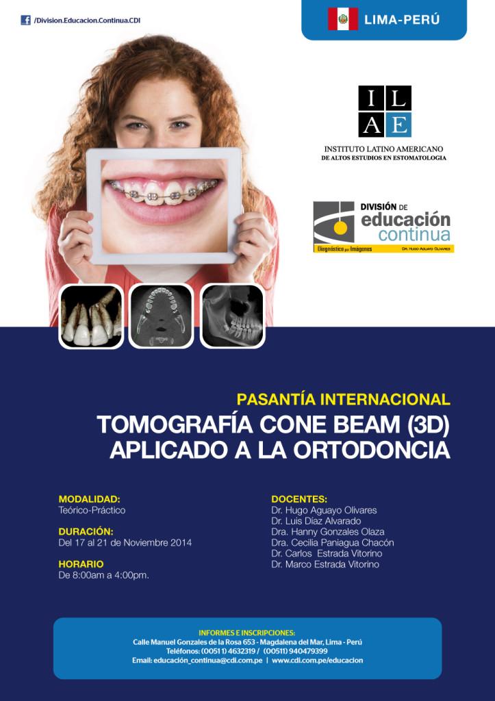 pasantia cone beam aplicado a la ortodoncia